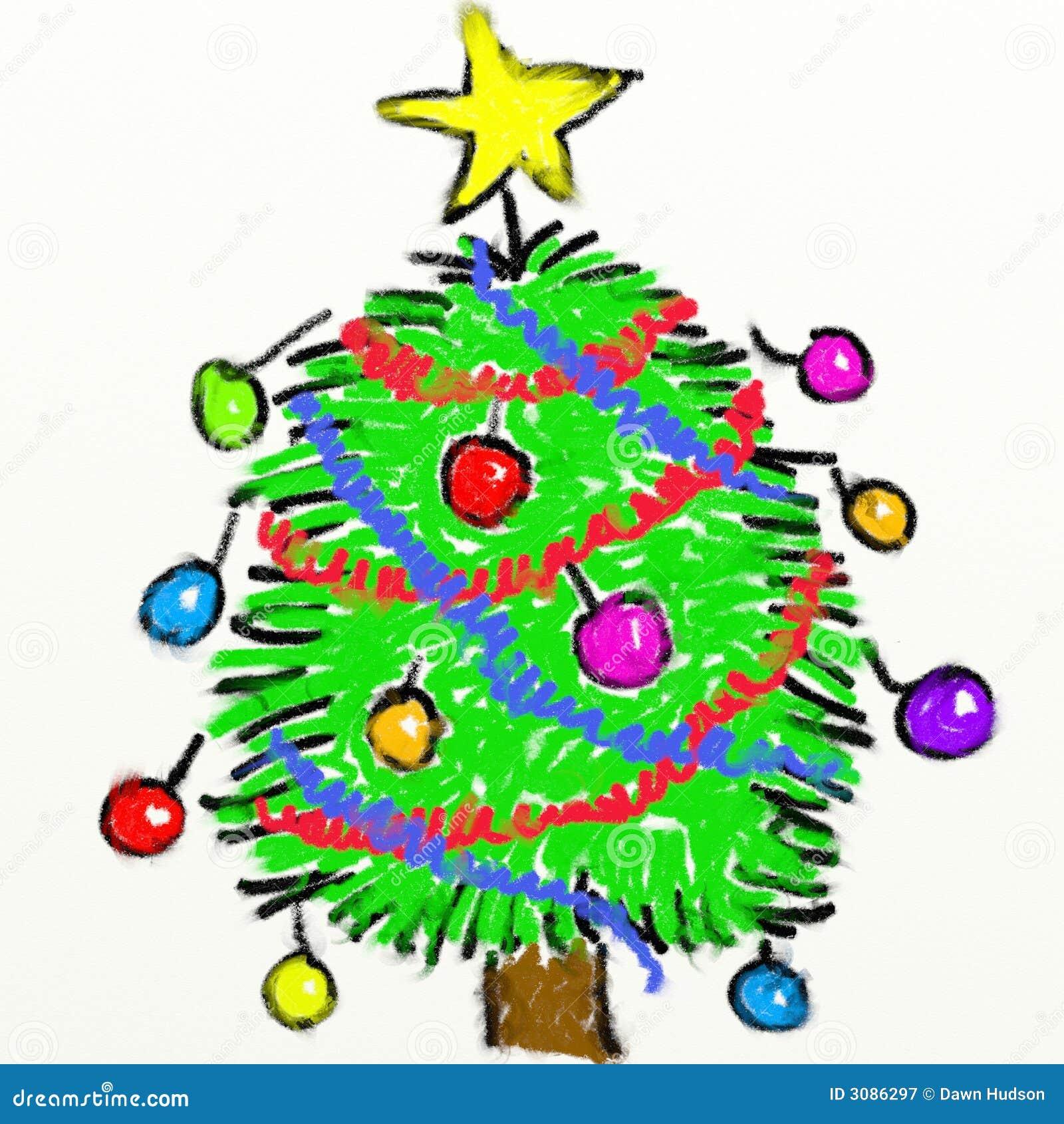 Childs Weihnachtsbaum