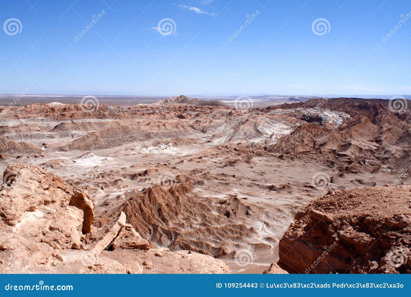 Chile Atacama Desert Death Valley X28 Valle De La Muerte X29