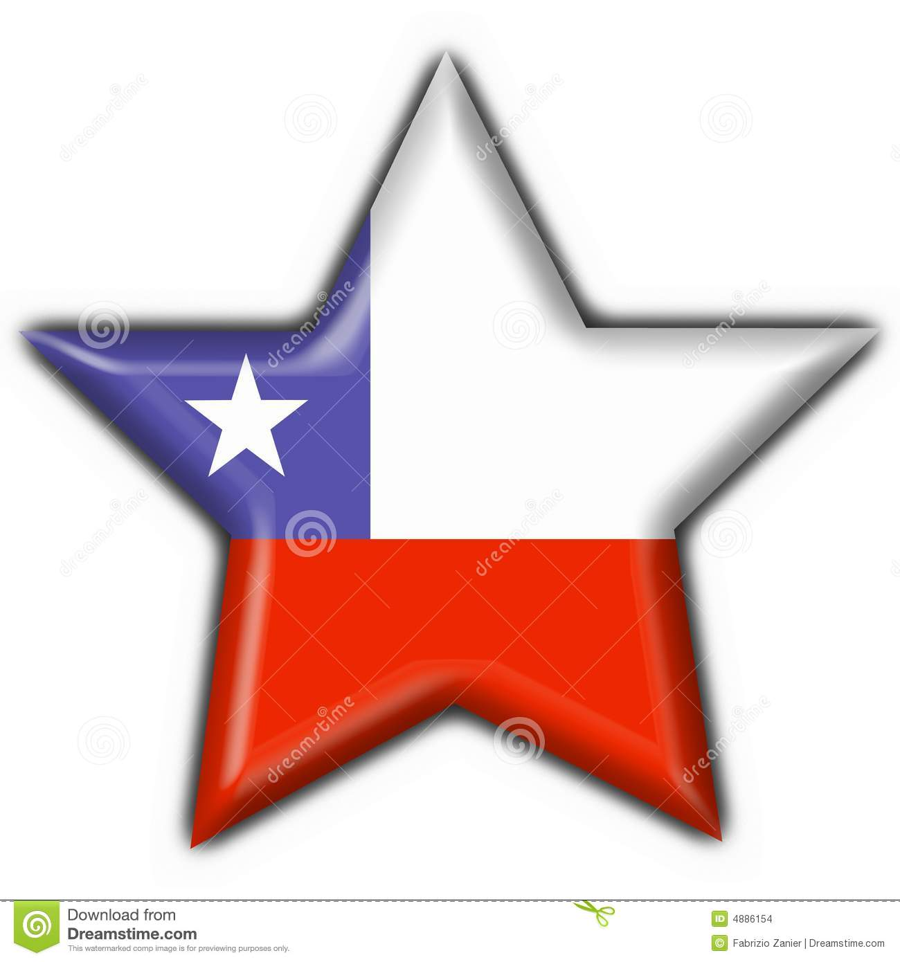 Chile button flag star shape stock illustration illustration of royalty free stock photo biocorpaavc Images