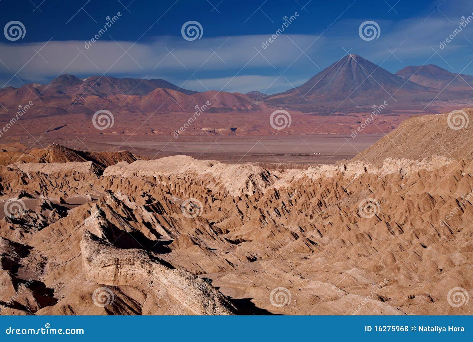 Chile De Śmierć losu angeles muerte Valle doliny widok
