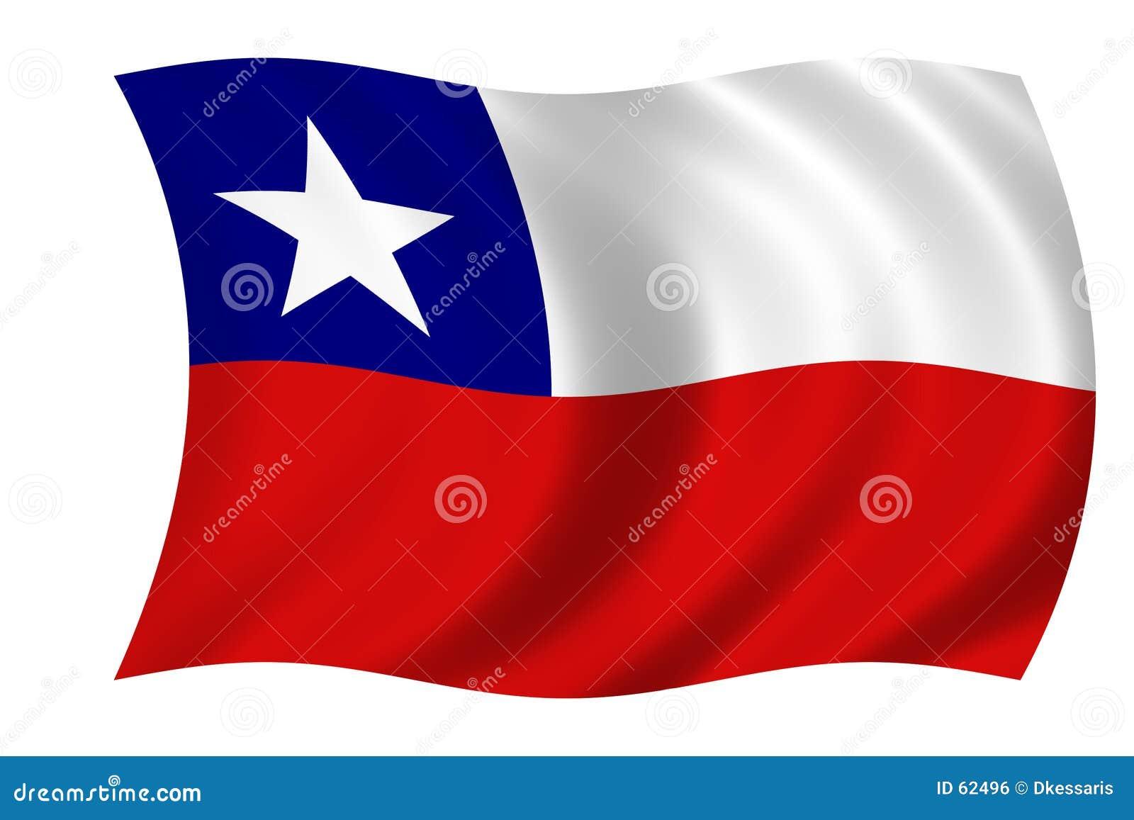 Chile flagę