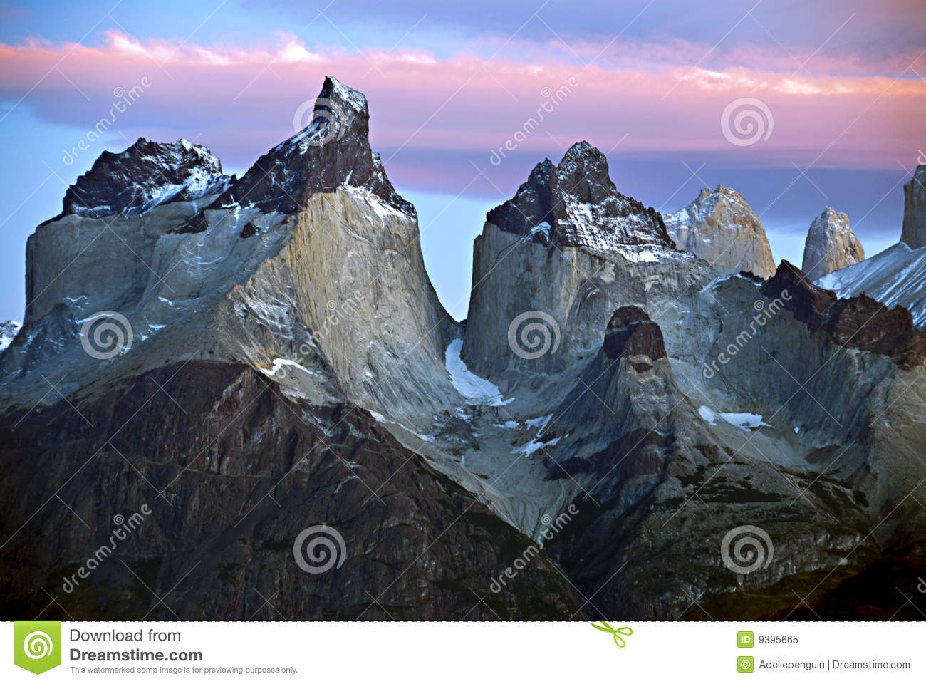 Chile mountains sunrise