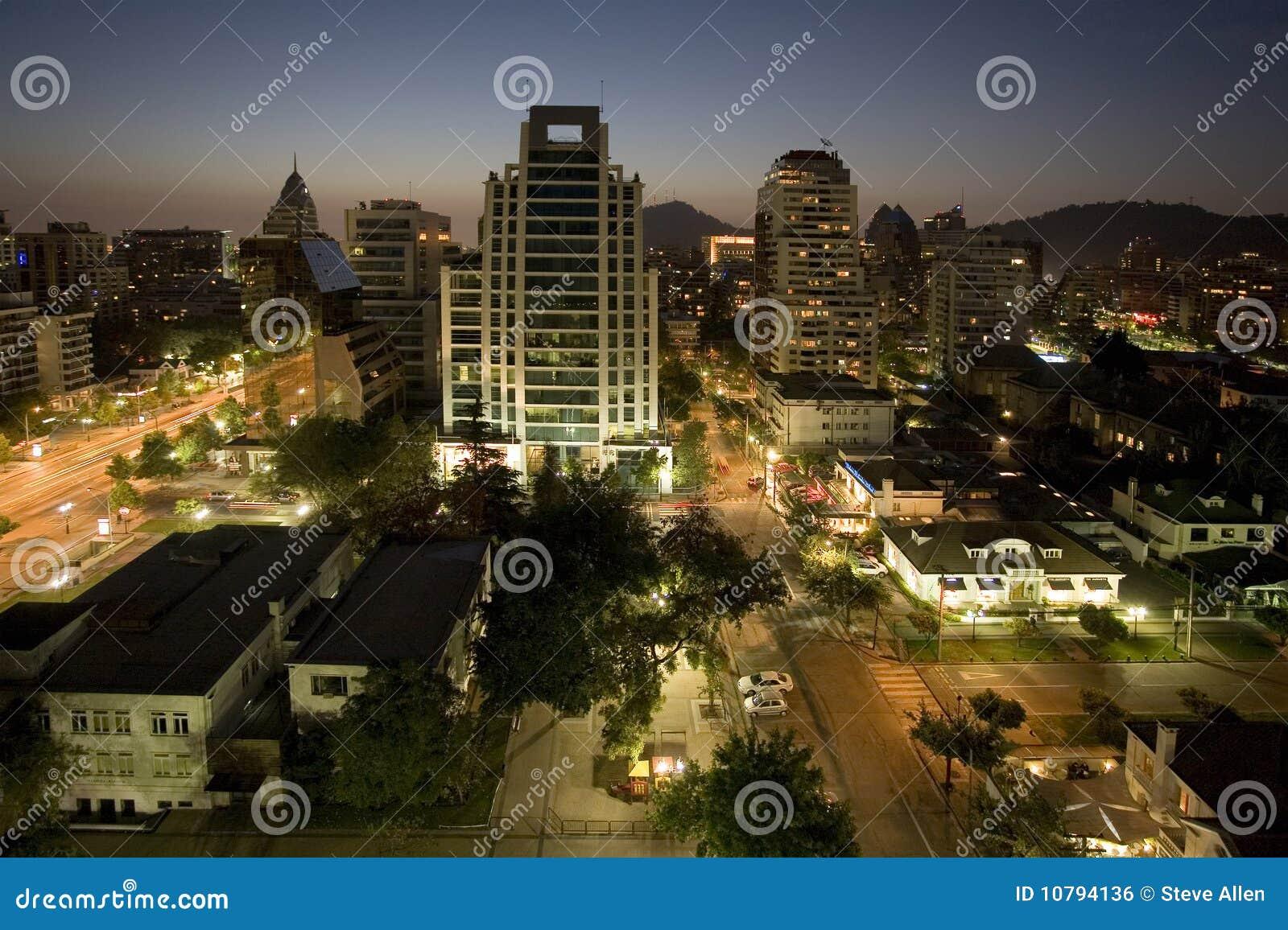 Chile stad santiago