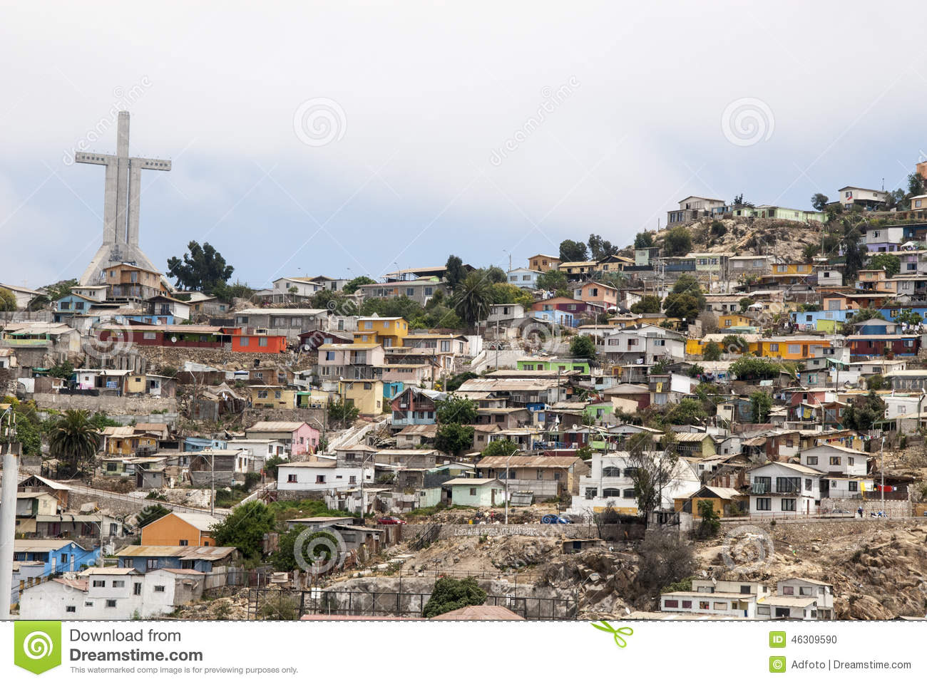 Chile - View of Coquimbo