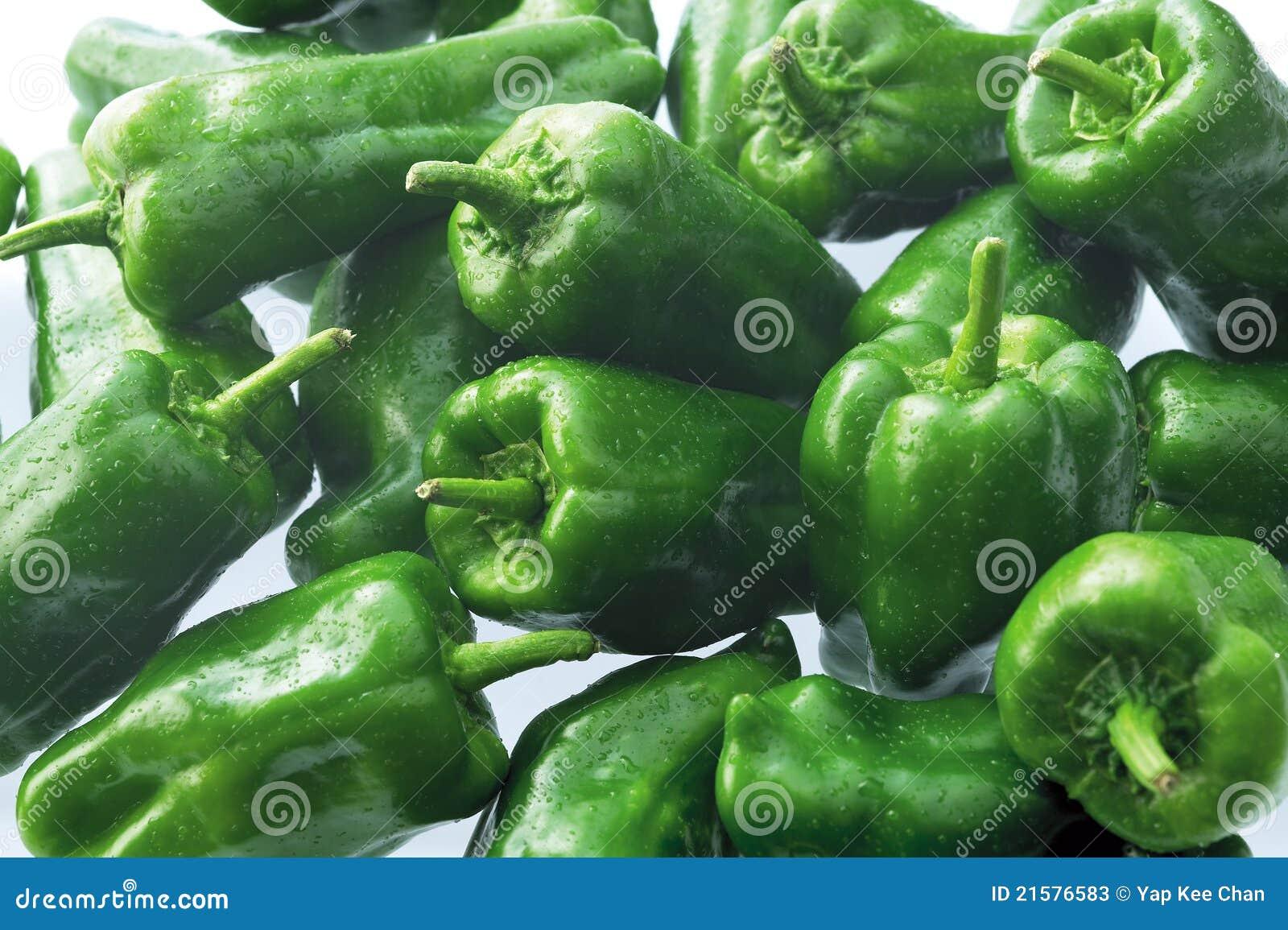 Chiles secos del paprika