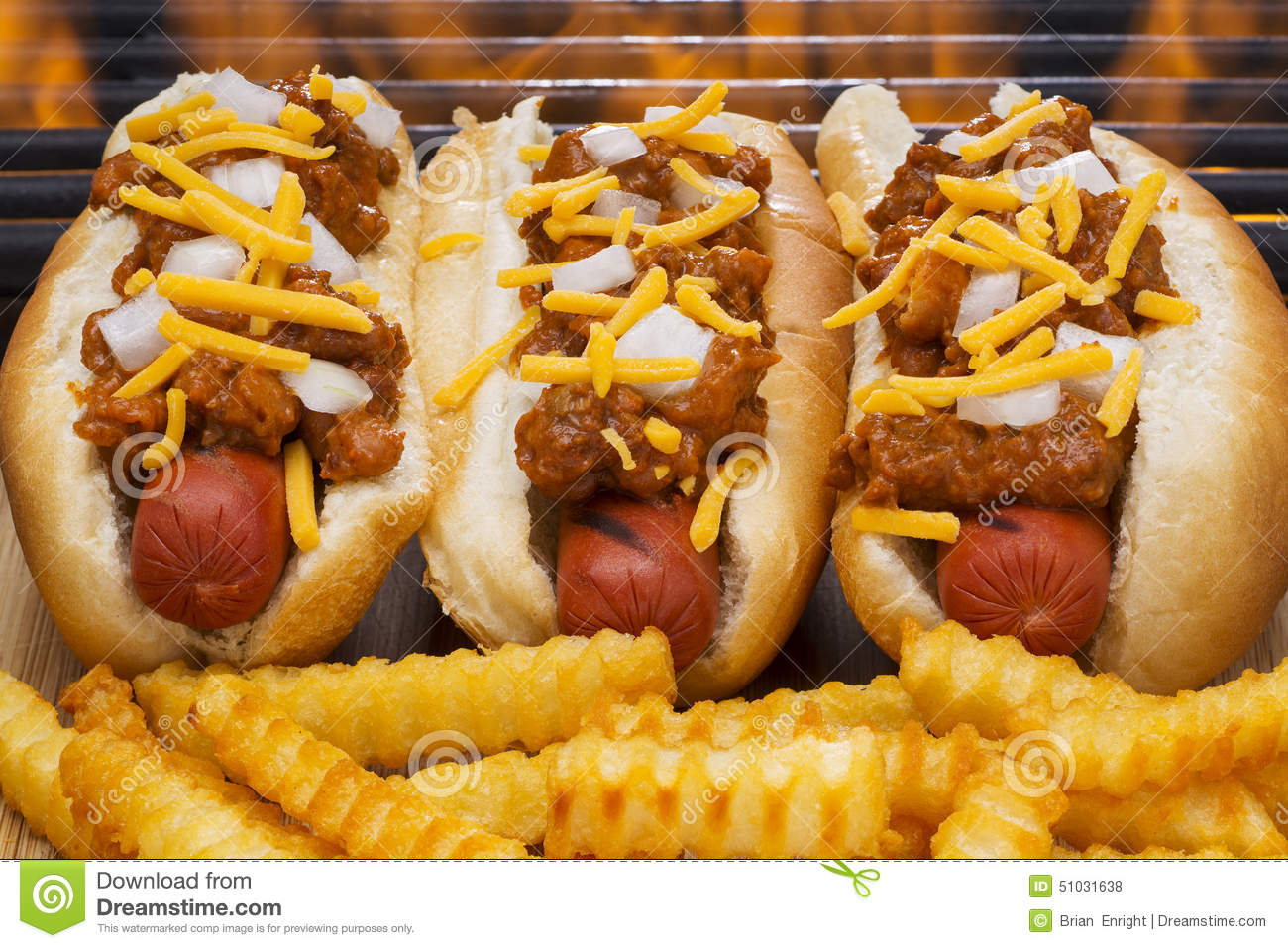 Two Hot Dog Buns