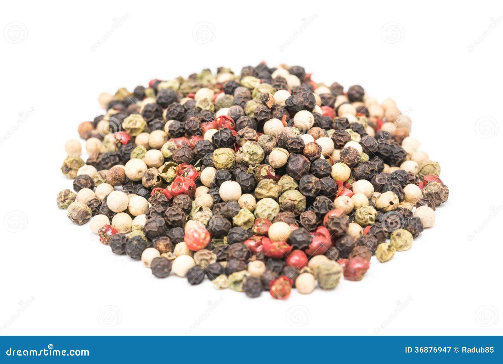 Download Chili Pepper Mix Isolated Colorato Immagine Stock - Immagine di colorato, alimento: 36876947