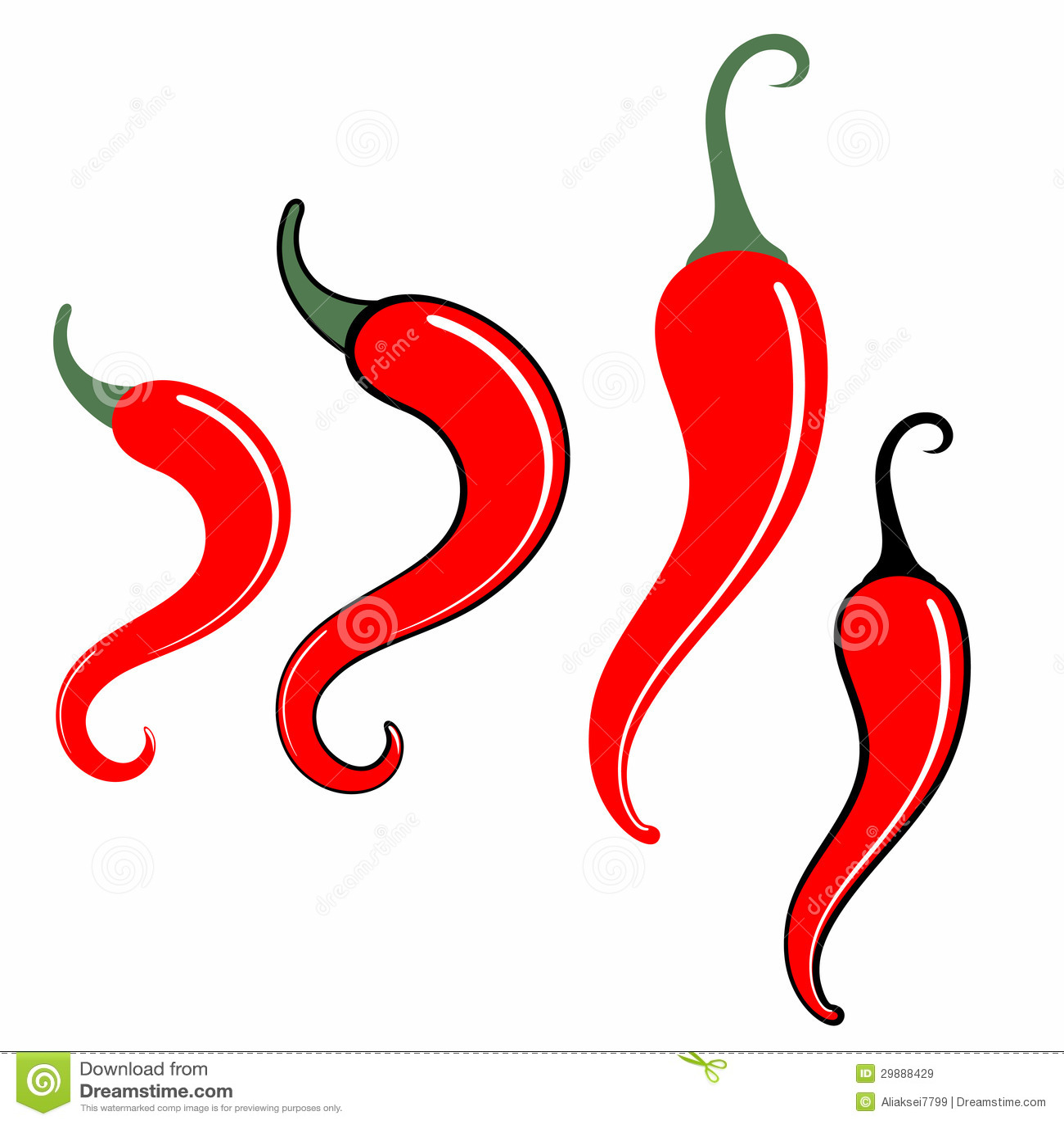 6ab508c89813 Chili Pepper stock vector. Illustration of jalapeno