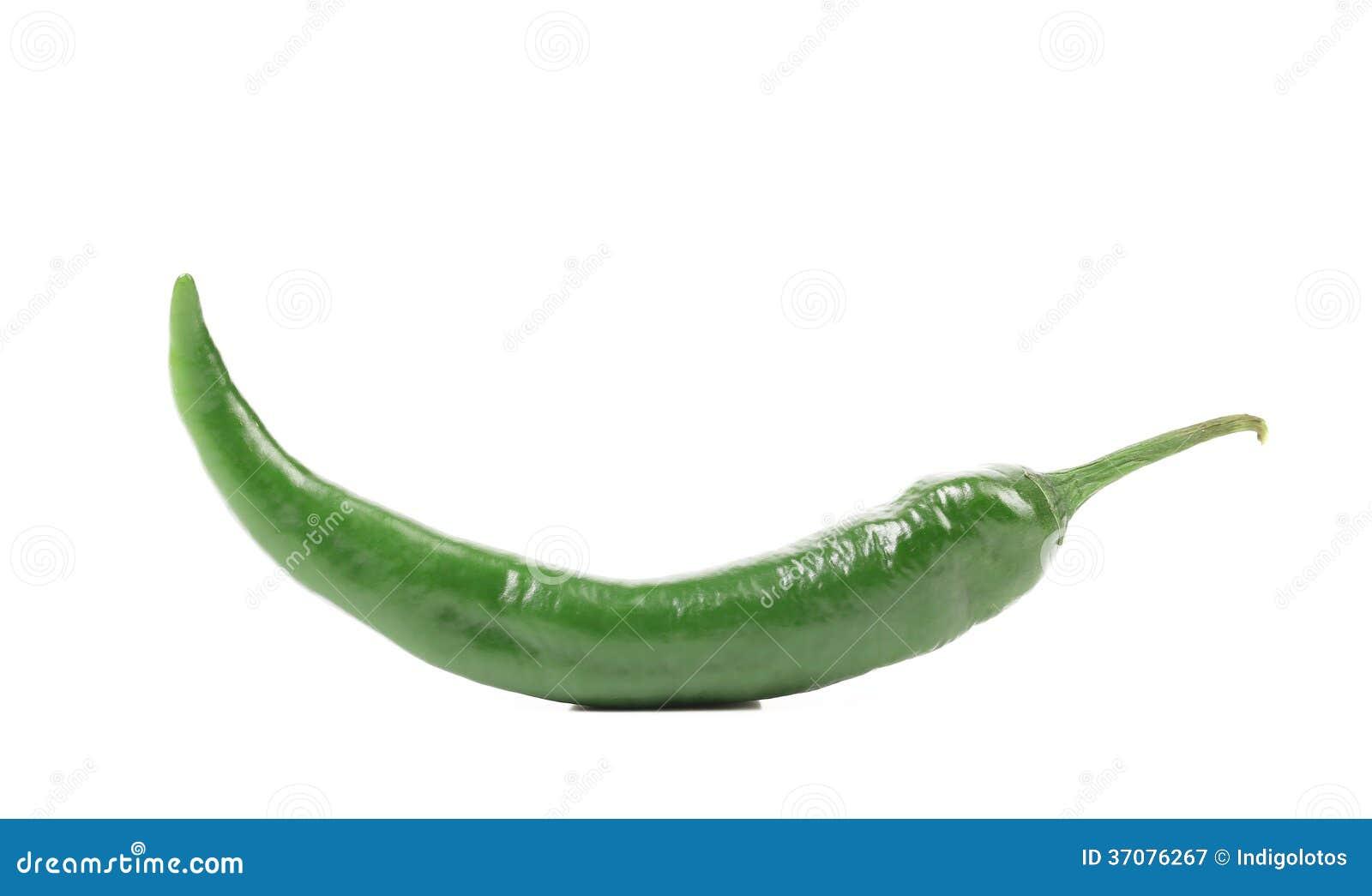 Download Chili zielony pieprz. obraz stock. Obraz złożonej z papryka - 37076267