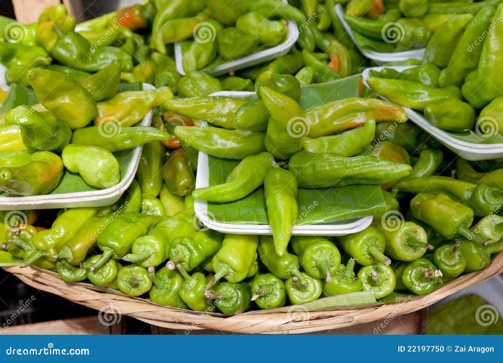 Chilis πράσινα