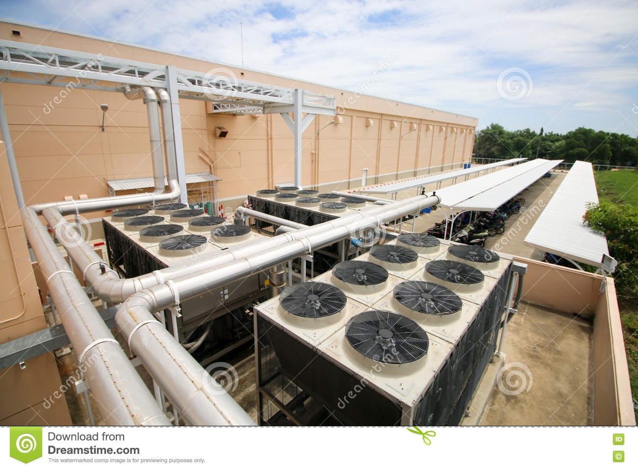 Chiller Stock Image Image Of Energy Axial Cooling
