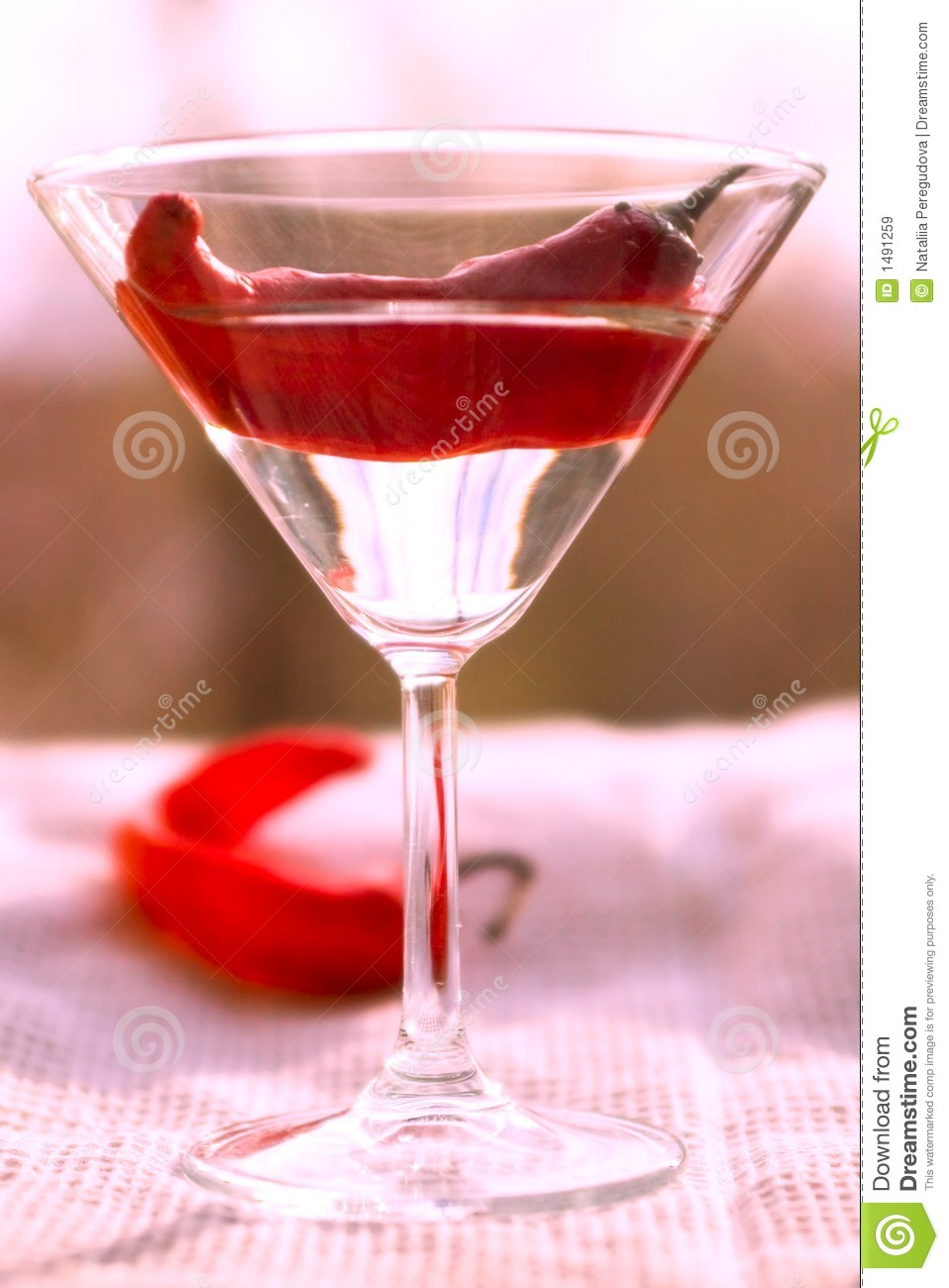 Red Chile Martini Recipe — Dishmaps