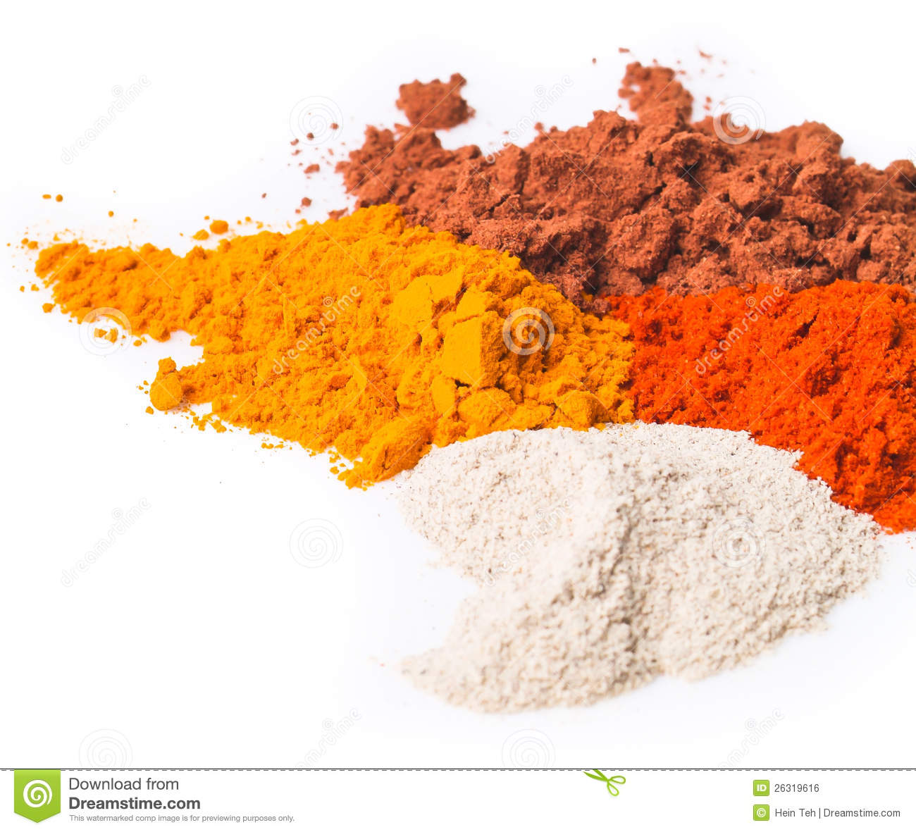 Chilli Powder Spice Mix On Background Royalty Free Stock