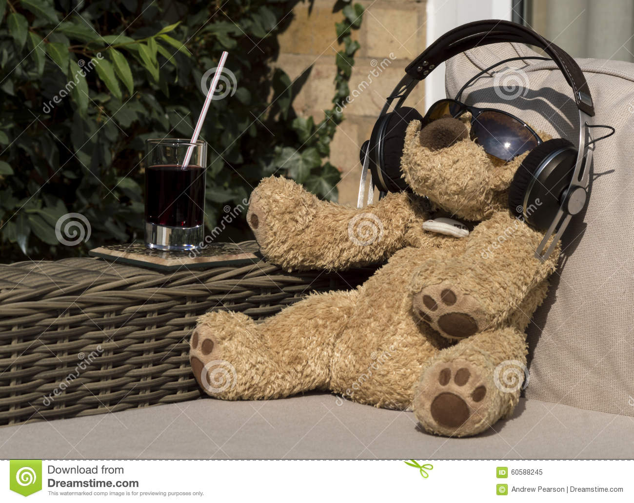 Chilling With Music Stock Photo - Image: 60588245 Relaxing Dog Music