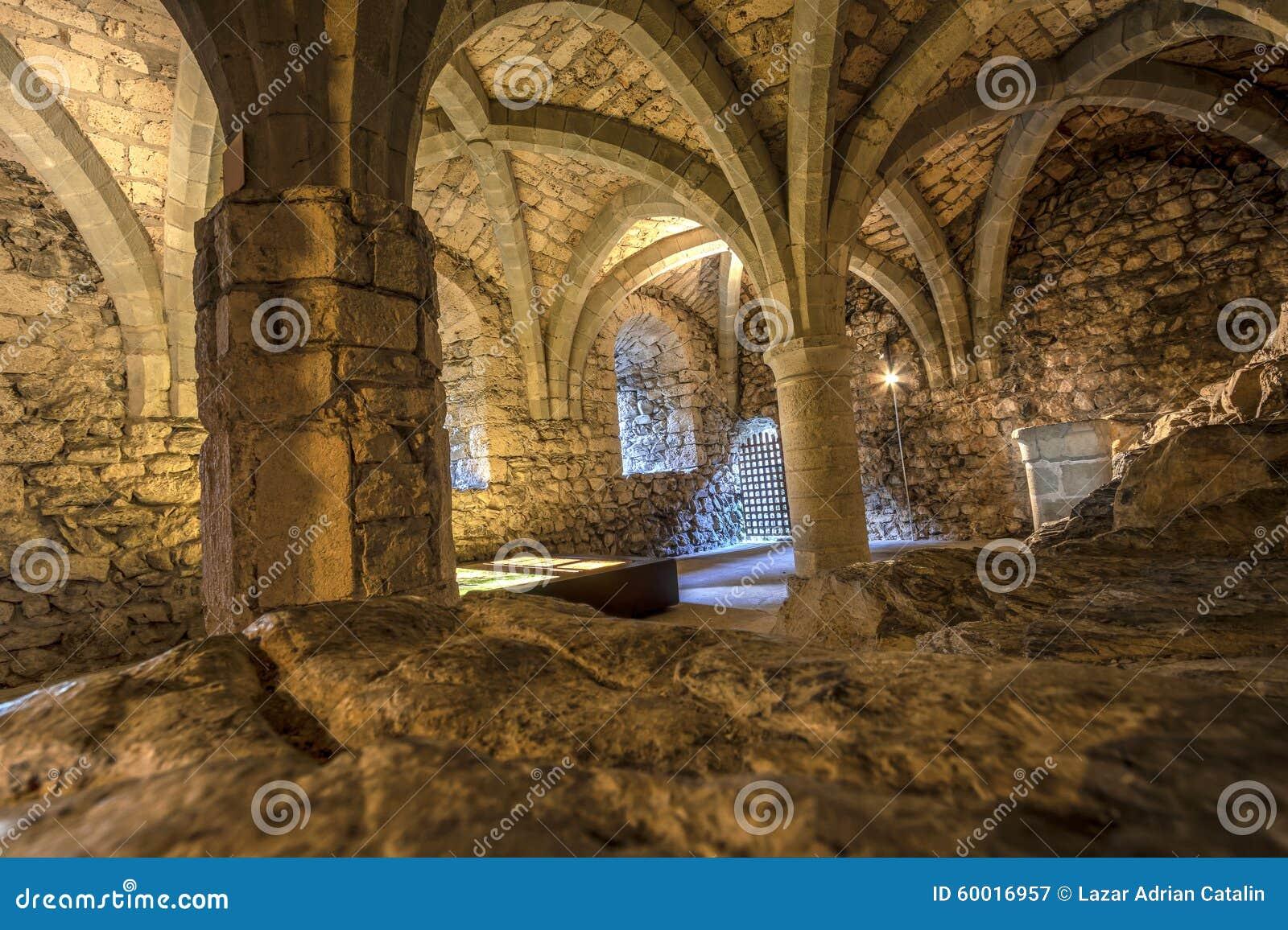 Chillon城堡,瑞士土牢