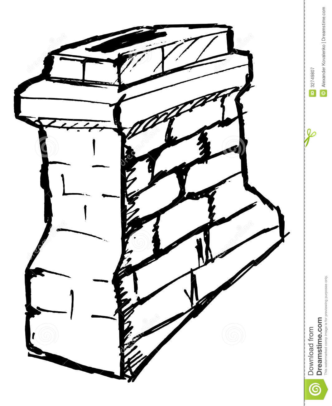 Electrical Layout Residential likewise Stock Images Modern White Wall Texture Image15936344 as well Edie Falco Dumping Downtown Duplex Digs 998 as well 2 as well Royalty Free Stock Photography Chimney Hand Drawn Sketch Illustration Image32749807. on all brick house plans