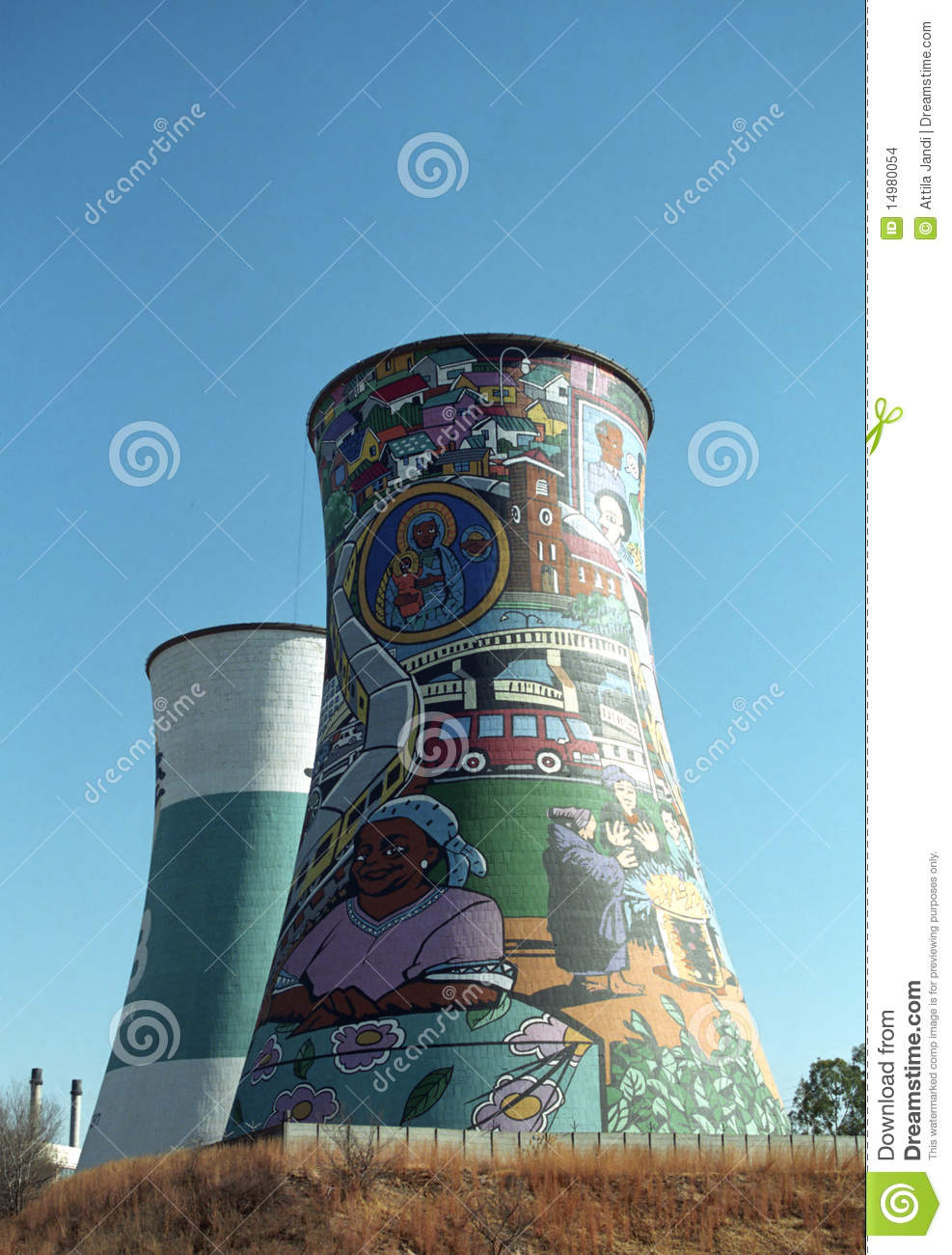Chimneys, Soweto, South African Republic