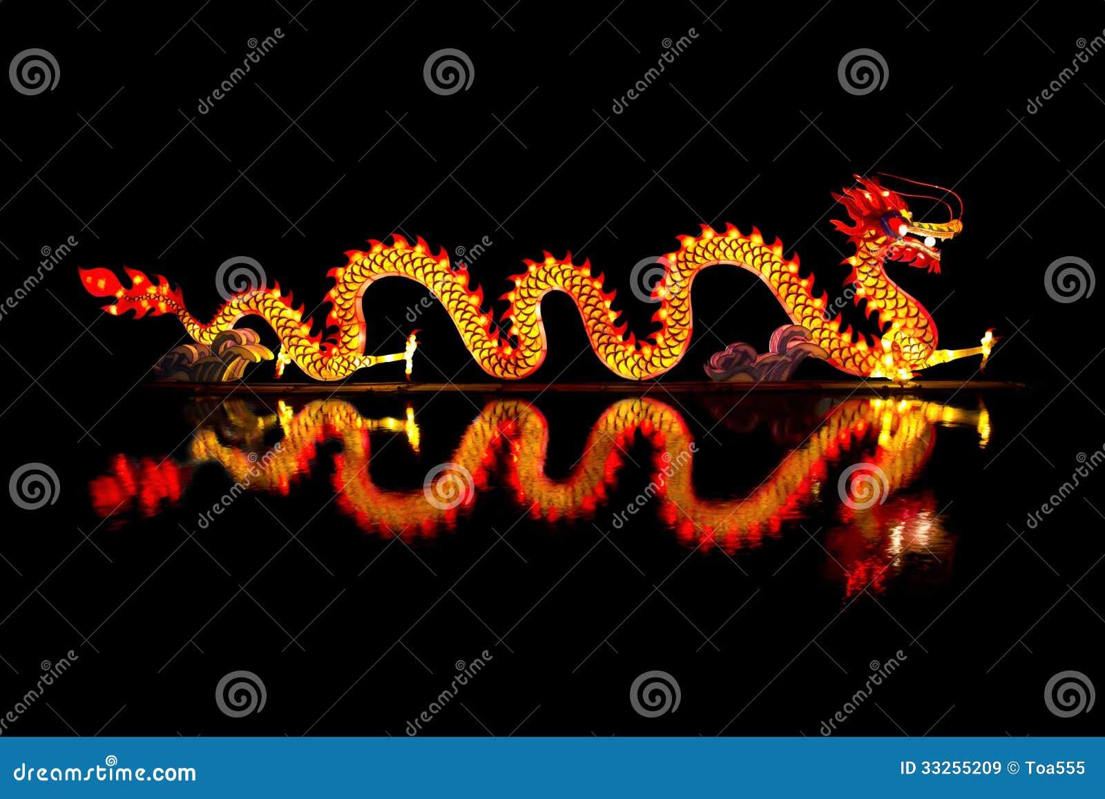 Chinês Dragon Lantern