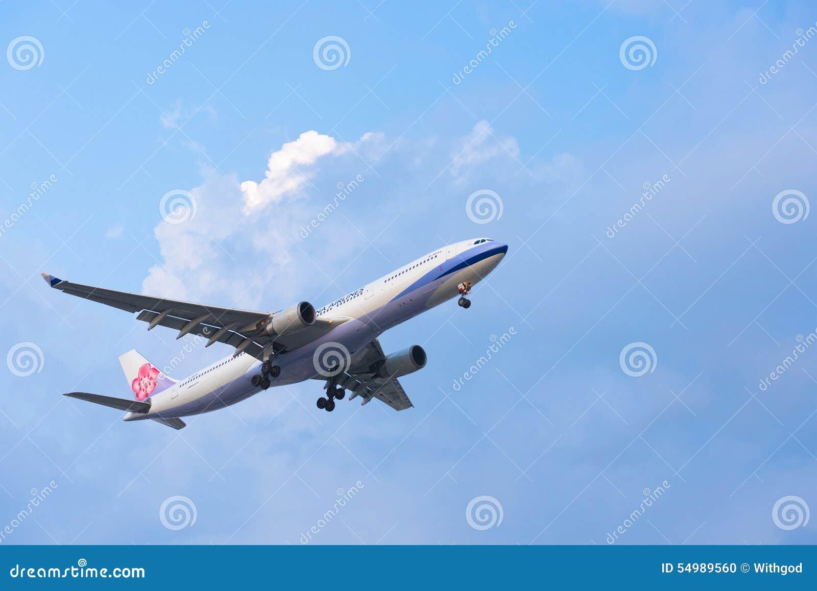 China Airlines nivåländer