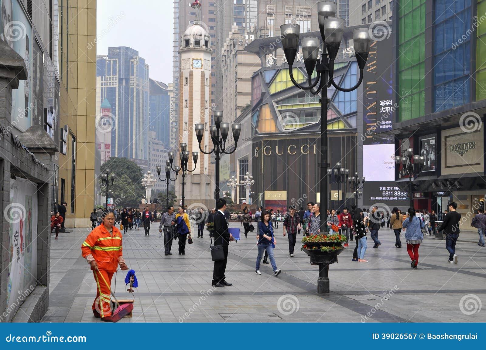 China Chongqing GUCCI Store Editorial Photography - Image ...