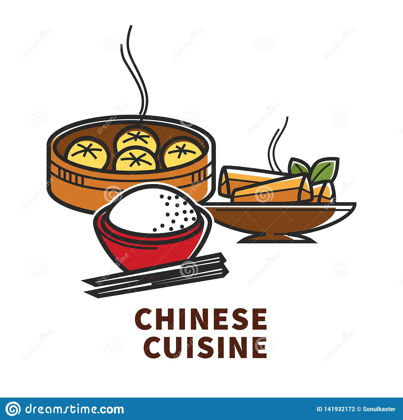 Asian chinese cultural food oriental
