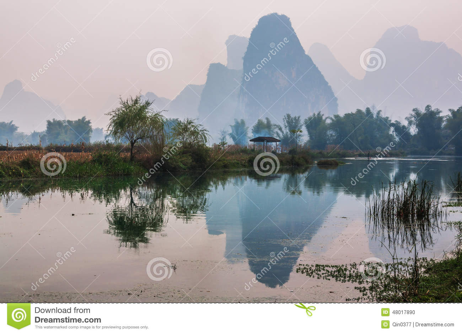 China do sul na mola