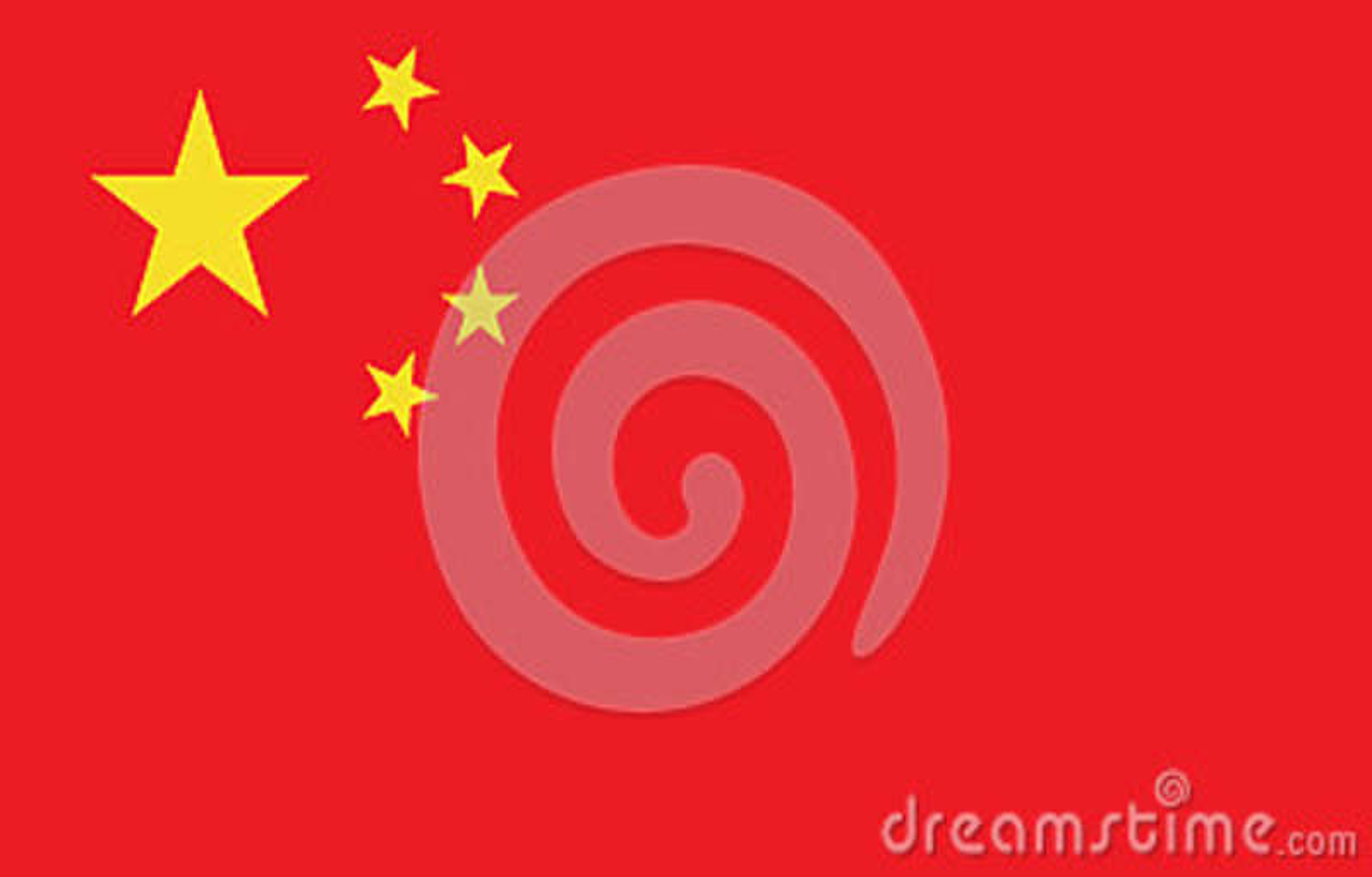 China flag image
