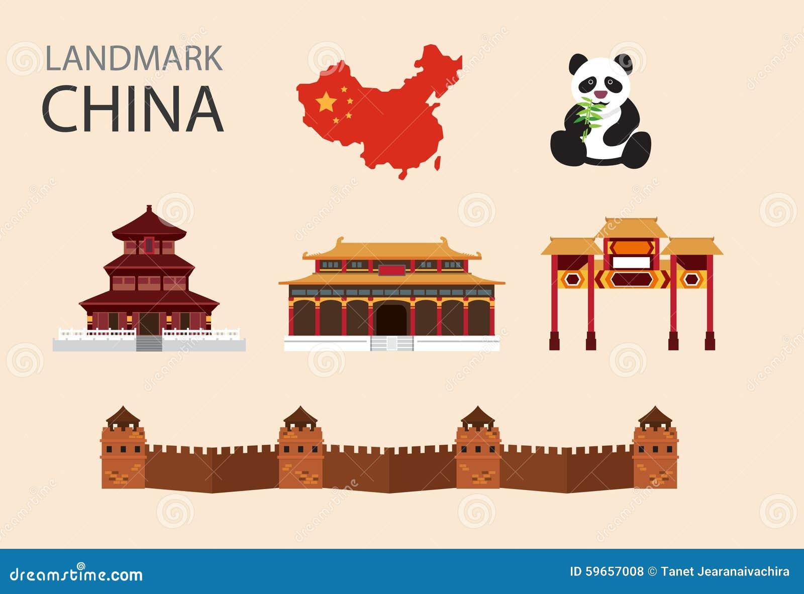 China Flat Vector Icons Set Stock Image 59657008