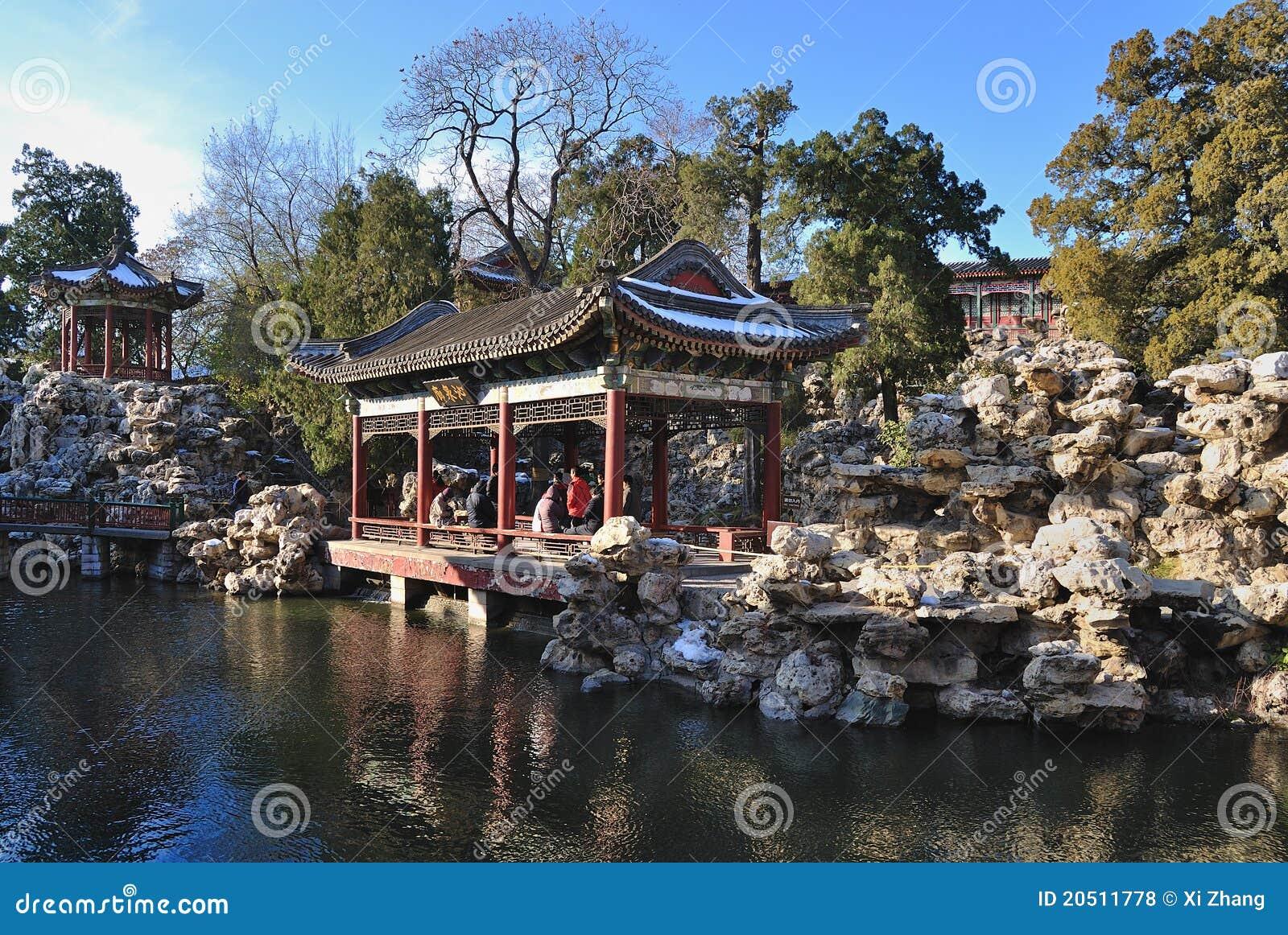 download china garden beihai park beijing editorial stock photo image of pavilions - North China Garden