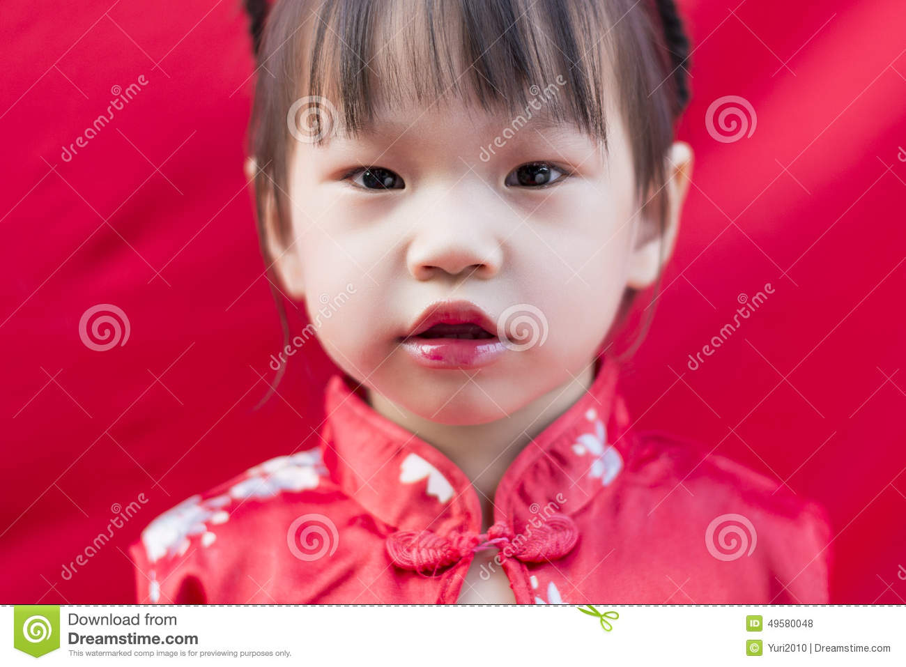 China girl in traditional chinese red tang suit greeting stock photo download china girl in traditional chinese red tang suit greeting stock photo image of mandarin m4hsunfo