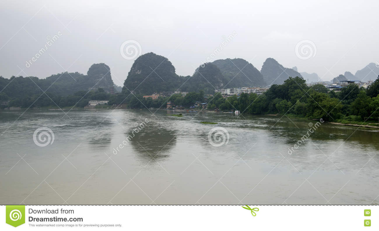 China Guilin Yangshuo guilin lijiang river River