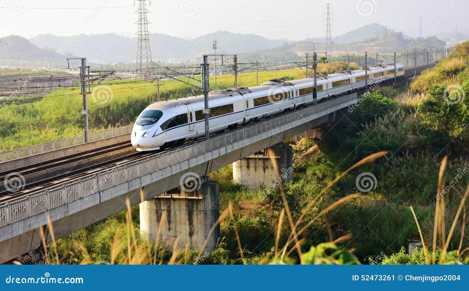 China-Hochgeschwindigkeitsschiene