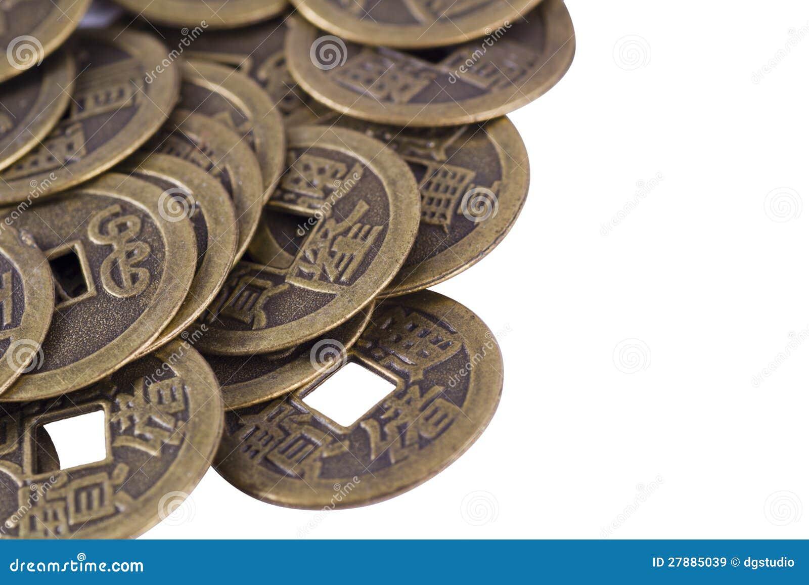 China Münzen Stockbild Bild Von Asiatisch Asien Münze 27885039