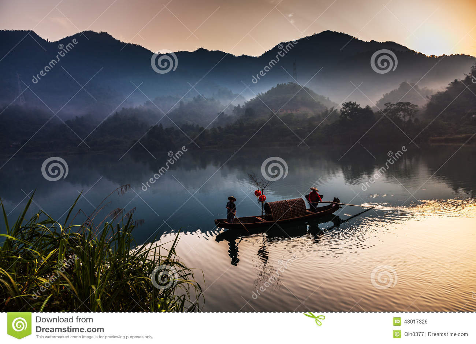 China meridional en primavera