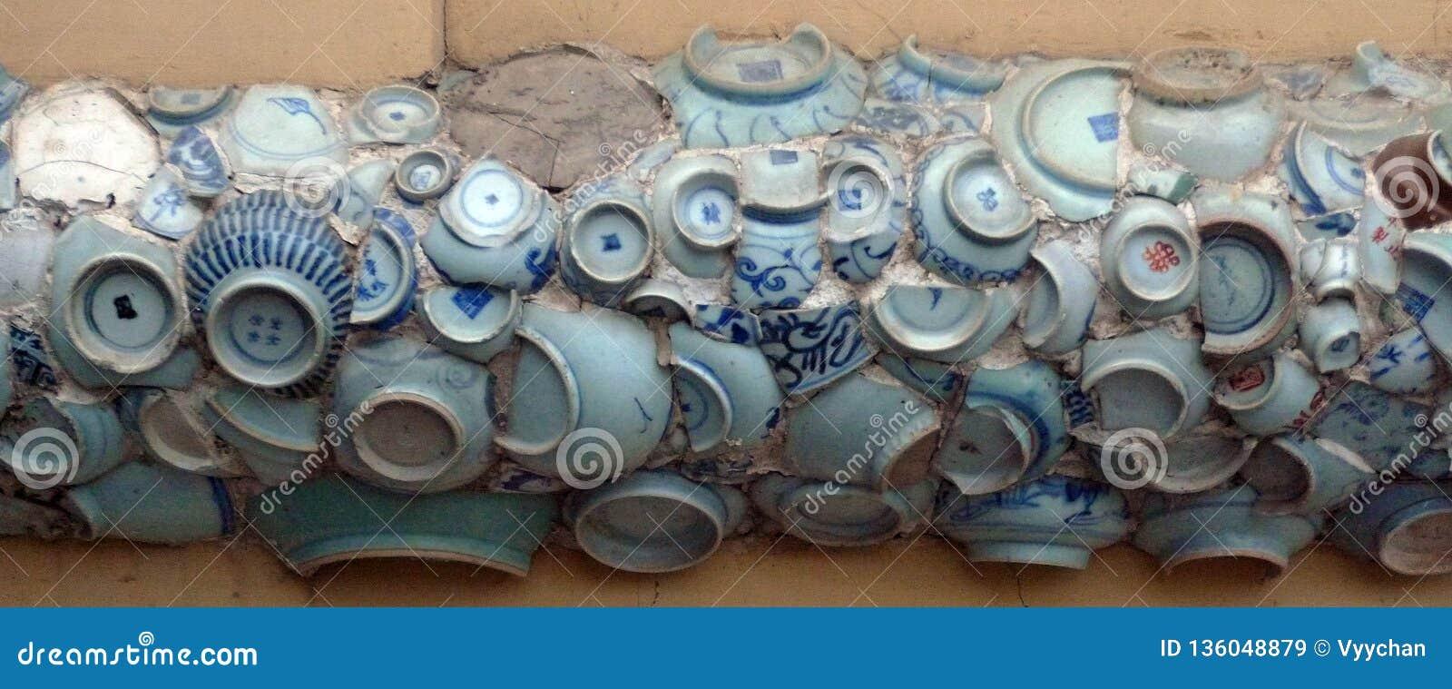 China Porcelain House Museum ChinaHouse Tianjin Ceramic tile Bowl Mosaic