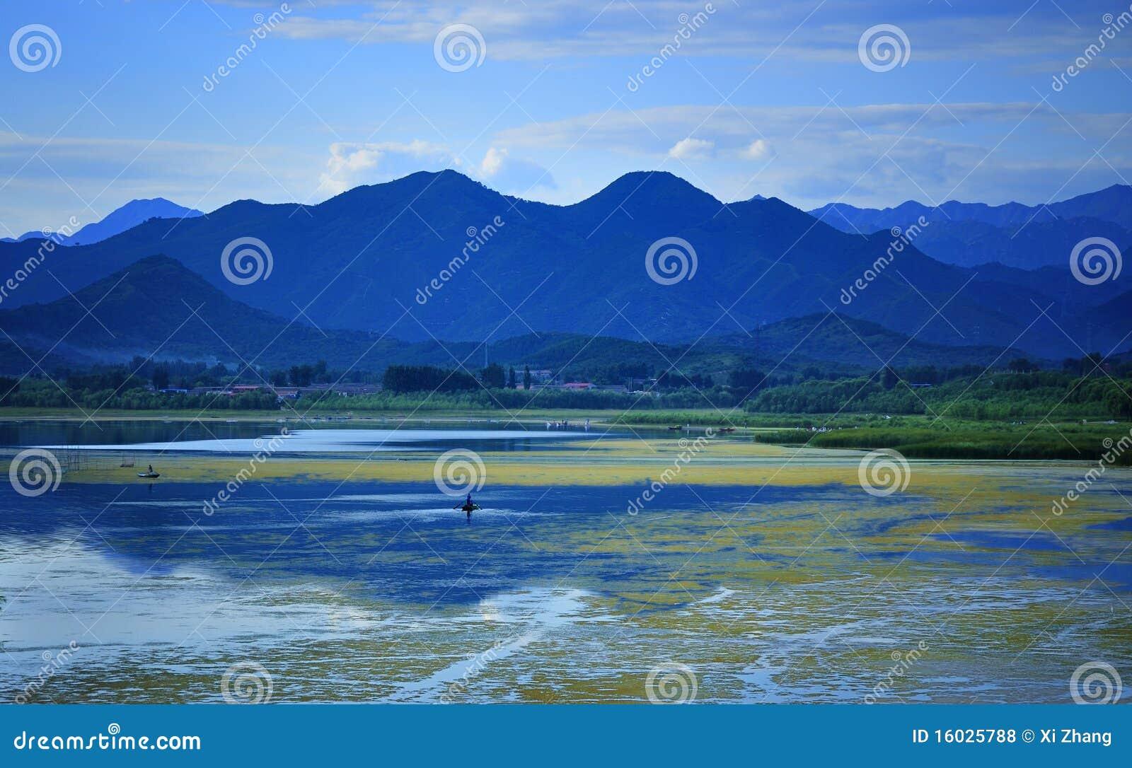 China Qinghai Lake Scenery Royalty Free Stock Photos Image 16025788
