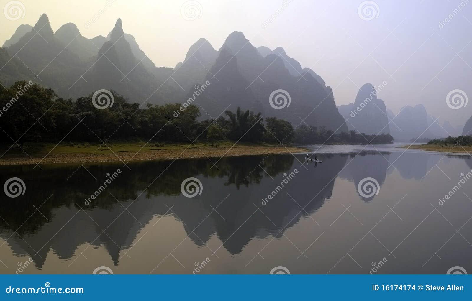 China - rio de Li em Guilin