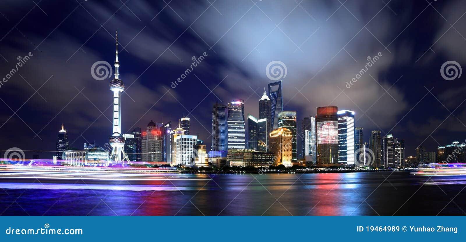 China shanghai panorama