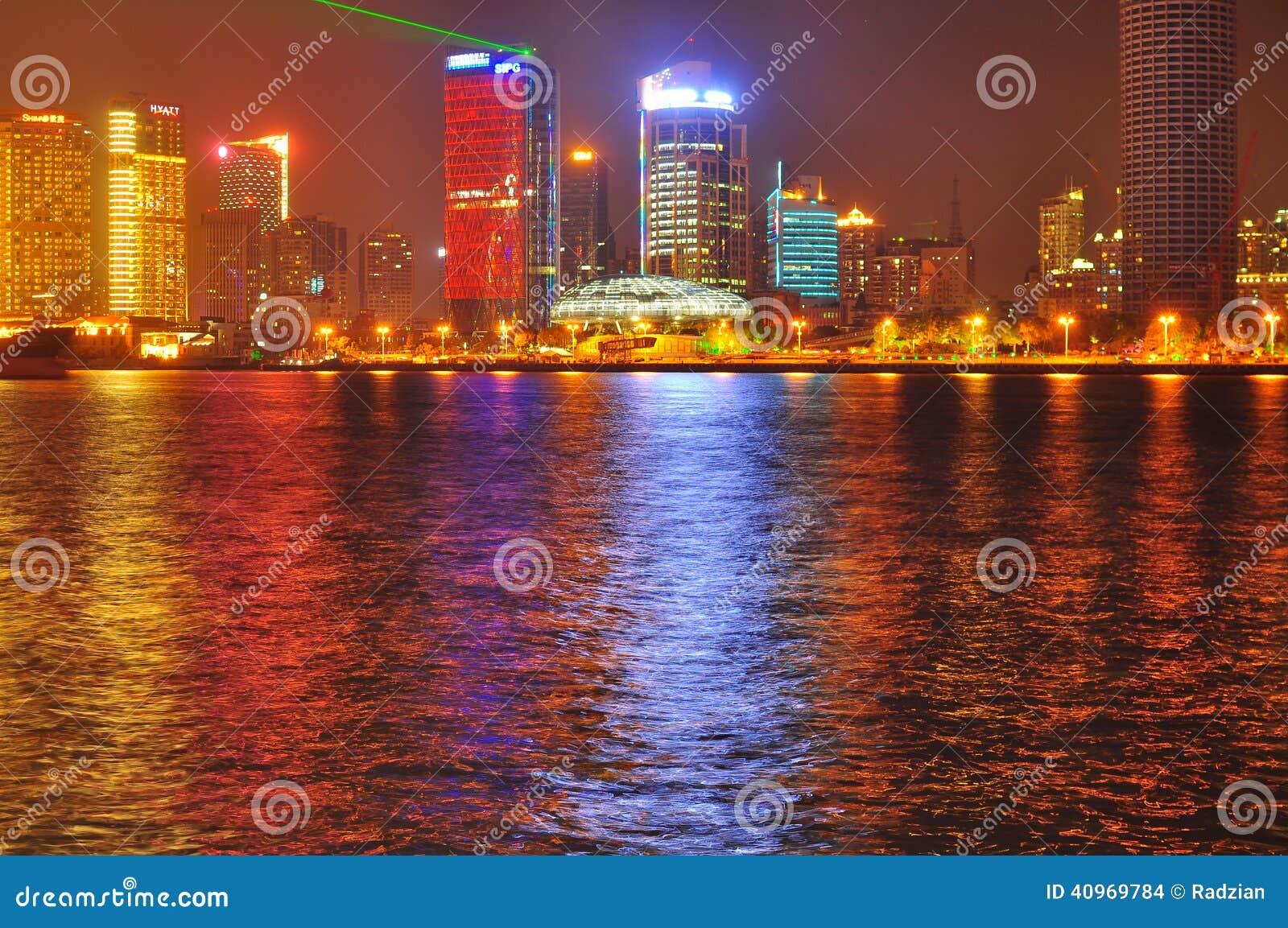 China Shanghai Skyline