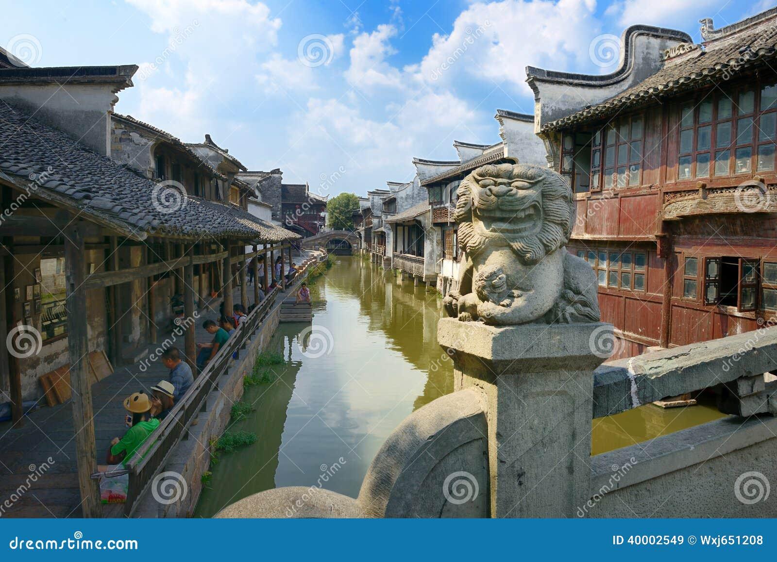 China,Shanghai Water Village Wuzhen 1 Editorial Stock ...