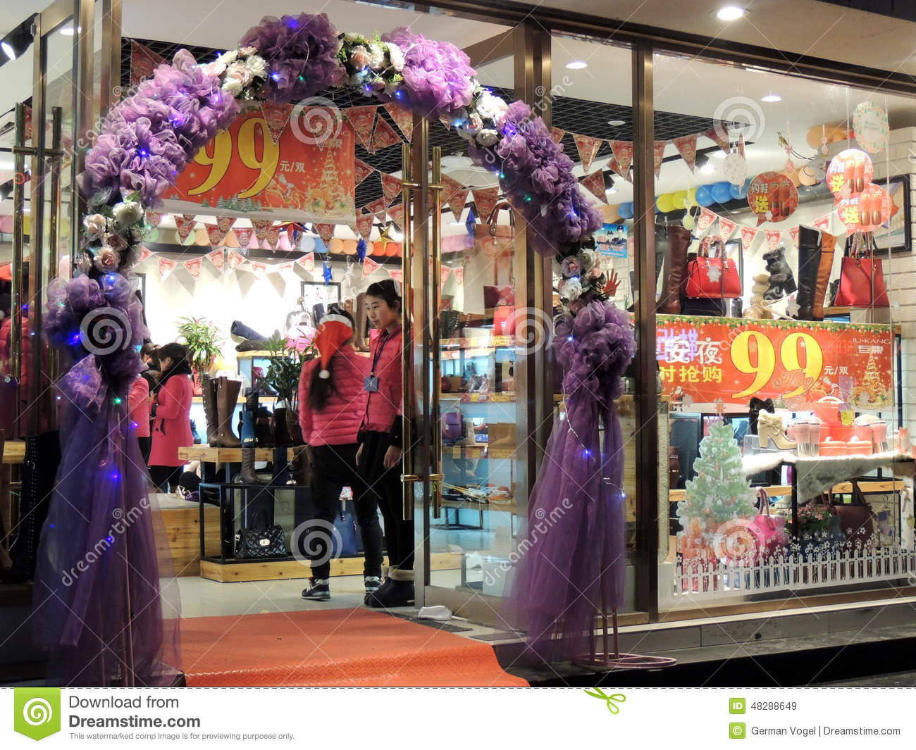 China shoes and purses shop christmas decorations sales for Salon xmas decorations
