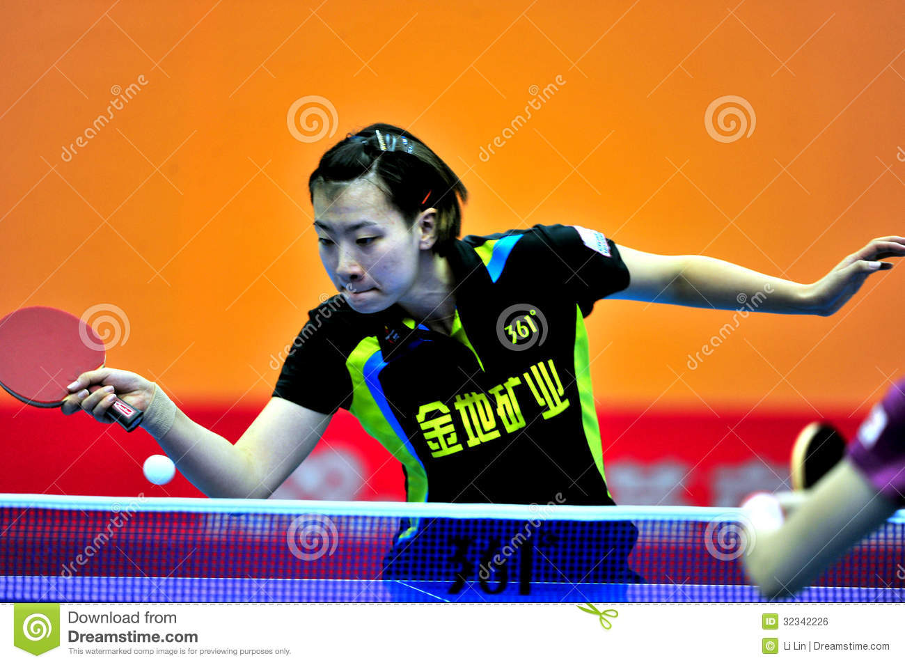 China Table Tennis Super League Editorial Photo Image Of