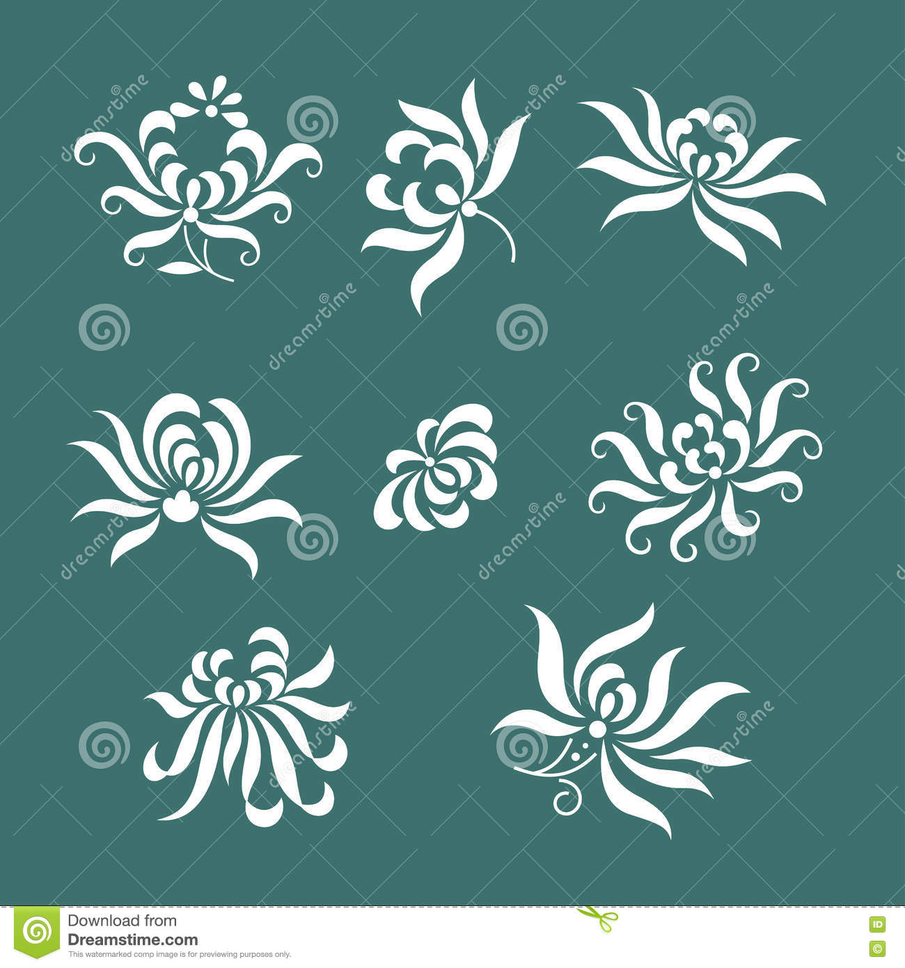 Traditional China Patterns china traditional paper-cut art(floral pattern) stock vector