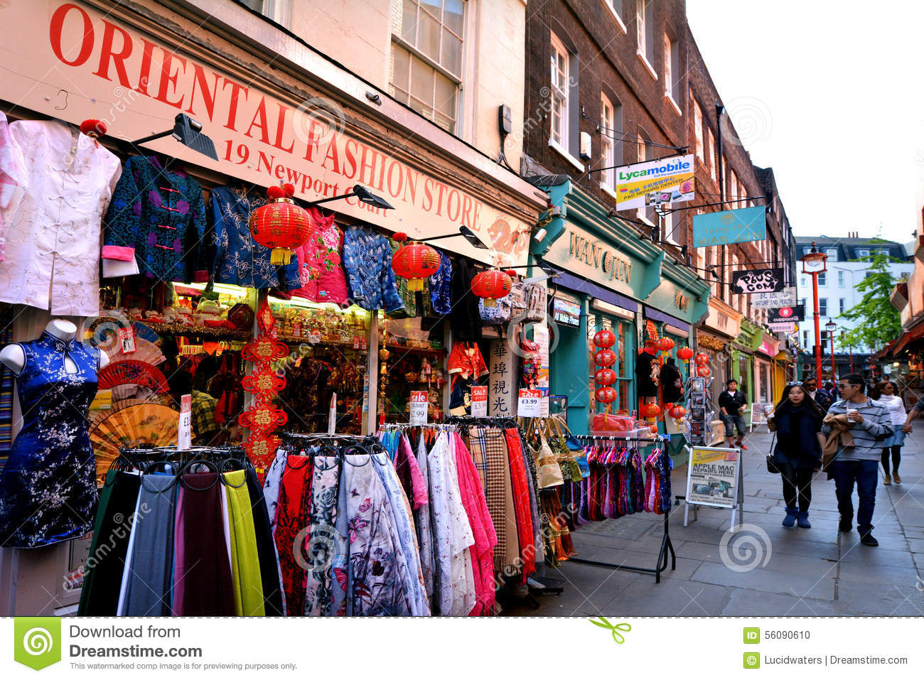 Chinatown London Editorial Image Image 56090610