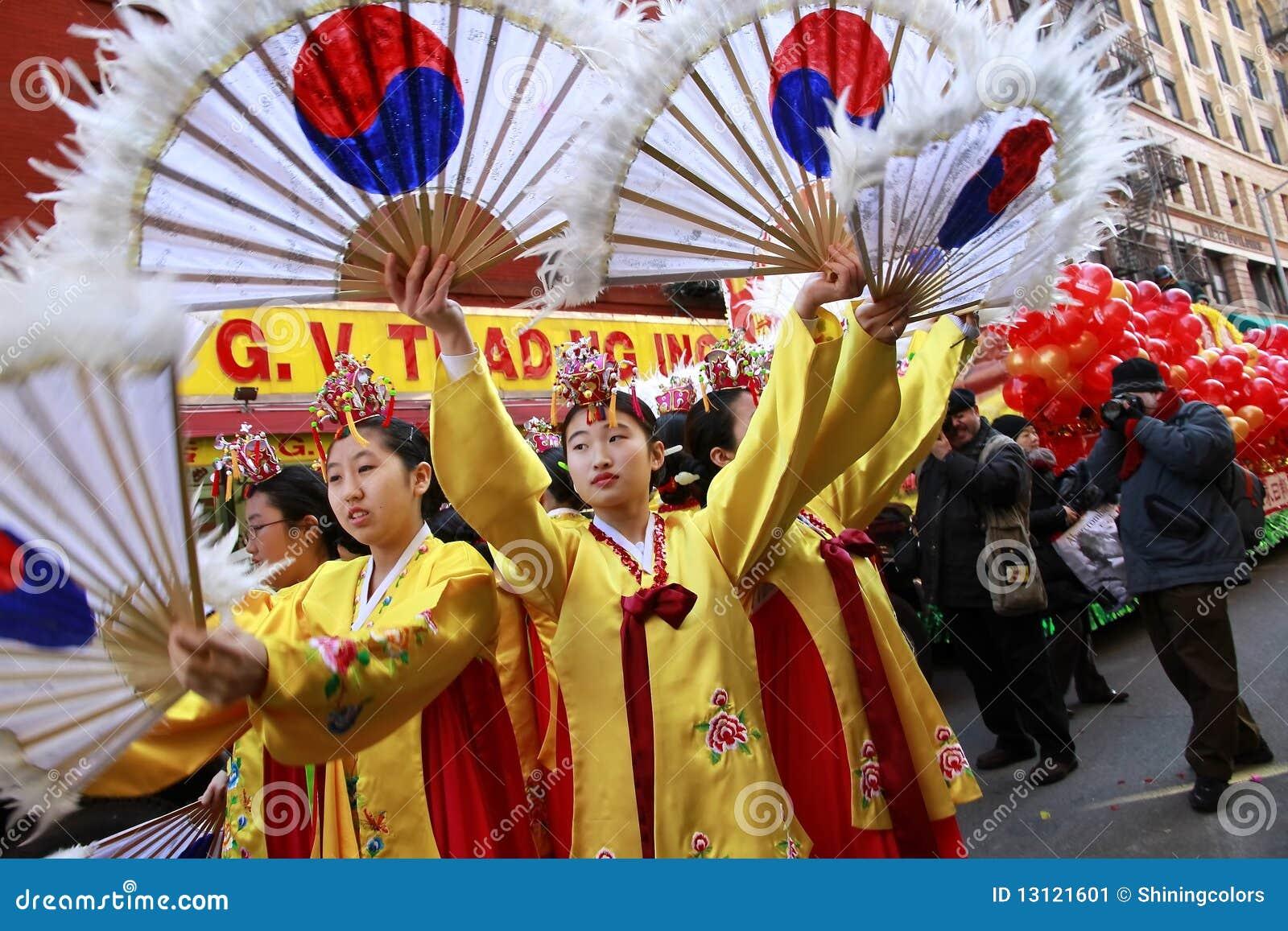 Chinatown nowy parady rok