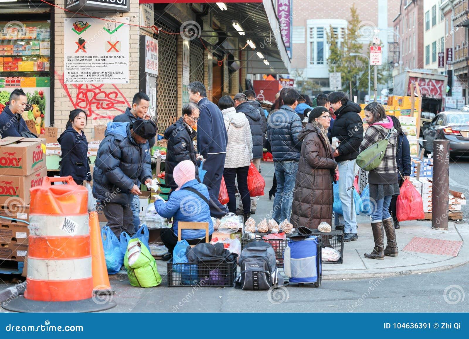 Download Chinatown, Philadelphia, PA Redactionele Foto - Afbeelding bestaande uit opslag, historisch: 104636391