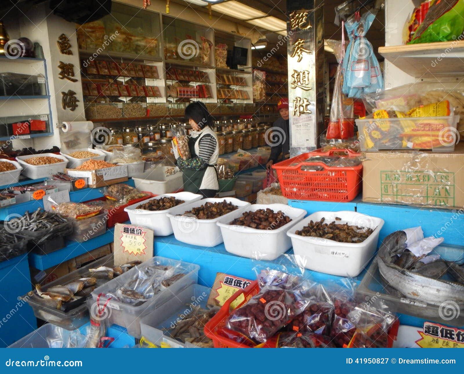 Chinatown pikantności rynek