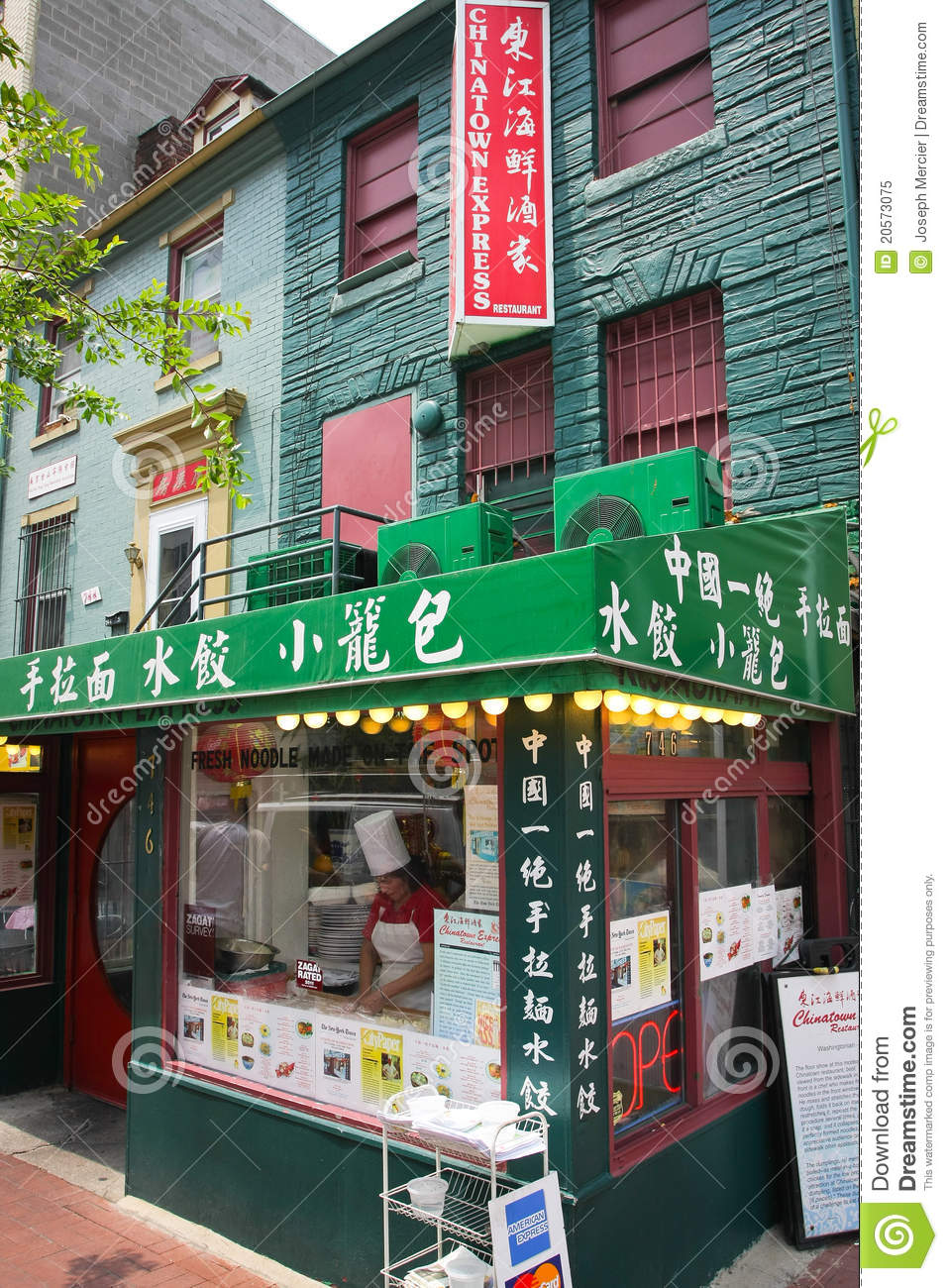Chinatown In Washington D C Editorial Image Image Of