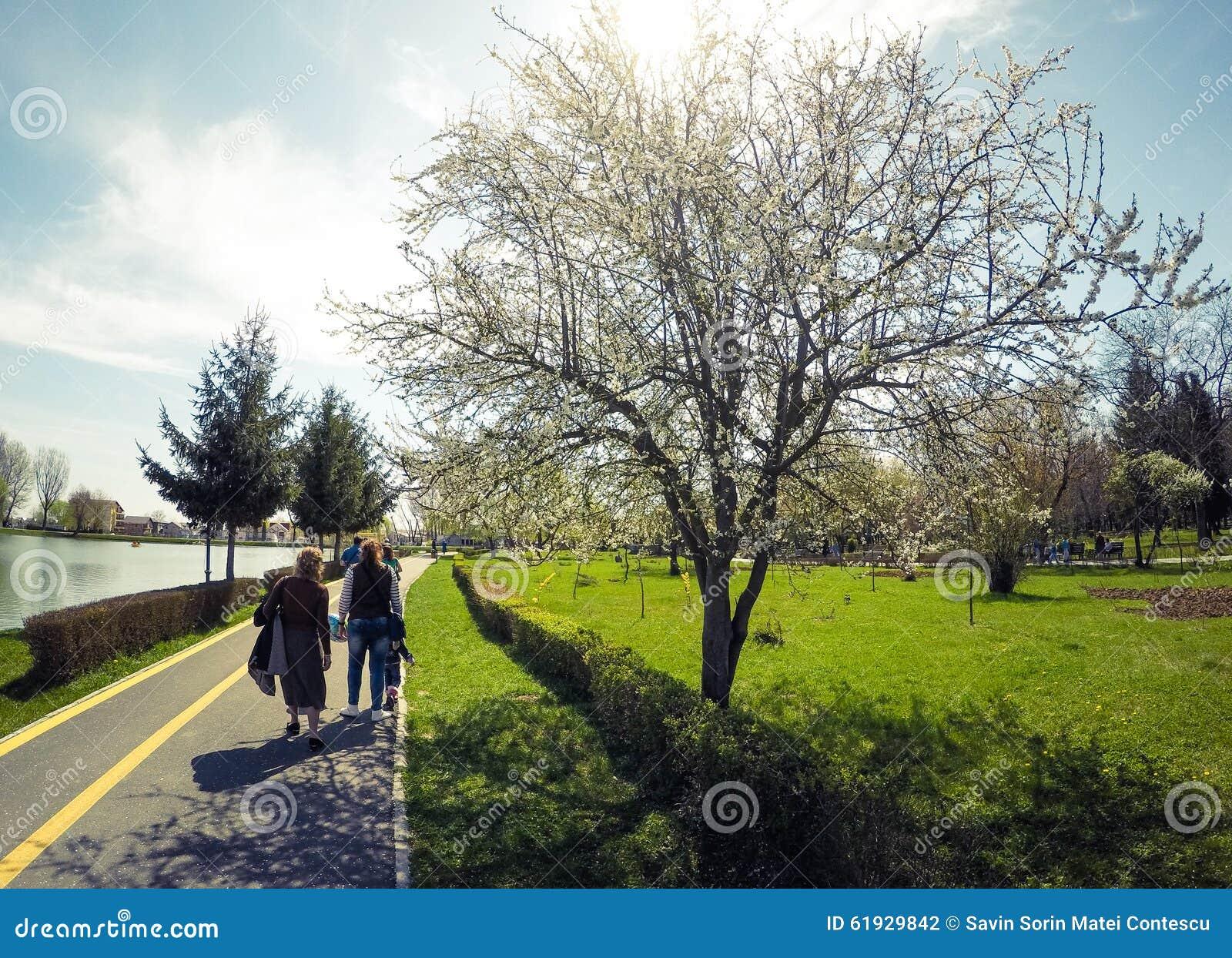 Chindia Park Targoviste Romania Editorial Photography ...