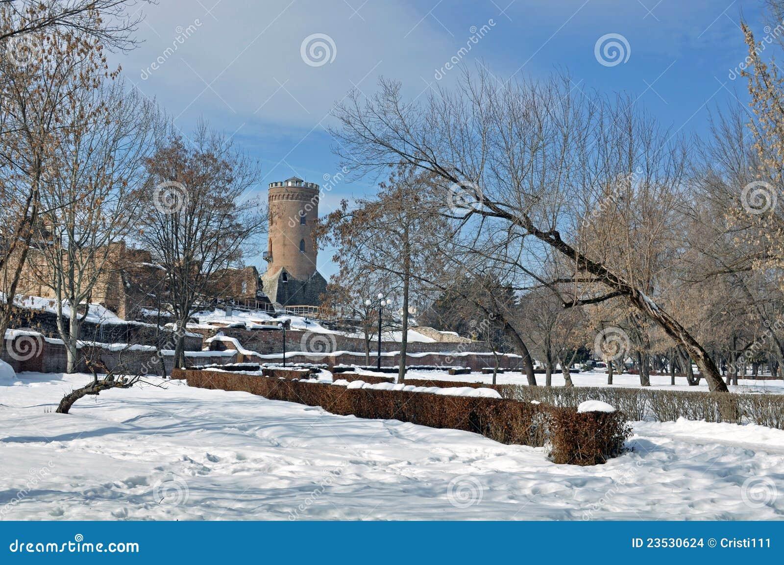 Chindia Tower In Targoviste, Romania Stock Photo - Image ...  |Chindia